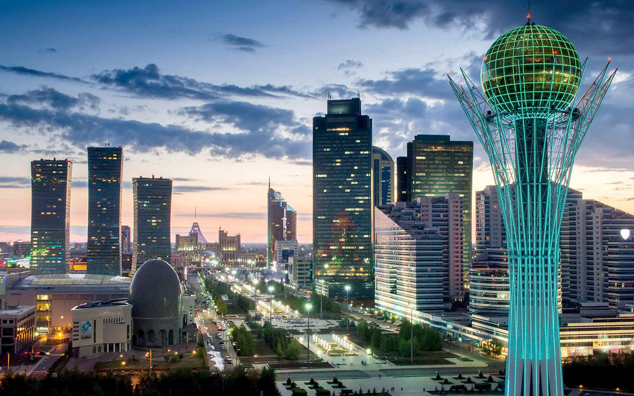 Astana, The Silk Road